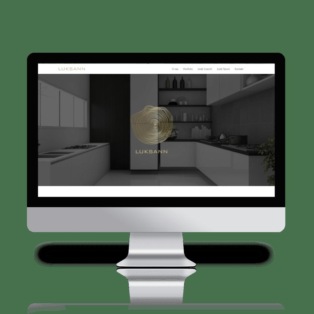 Balahibo Studio Graficzne Katowice Strony Internetowe Luksann Ekskluzywne Wykończenie Wnętrz